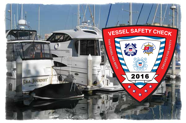 2016 Vessel Examination Decal